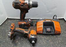 RIDGID X4 18-Volt Hyper Lithium-Ion Cordless Drill & Impact Driver Combo Kit