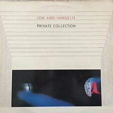 VINYL - JON AND VANGELIS LP PRIVATE COLLECTION 1983 HOLLAND  33T
