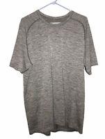 Lululemon Mens Metal Vent Tech Short Sleeve Shirt Gray Size XXL