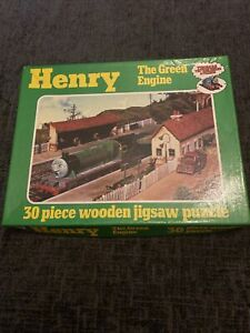 Thomas The tank Engine & Friends Henry 30 Piece jigsaw puzzle vintage