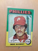1975 Topps Mike Schmidt Philadelphia Phillies#70 Baseball Card, HOF, HR,3rd Base
