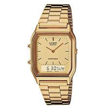 Reloj Casio retro dorado Aq-230g-9b