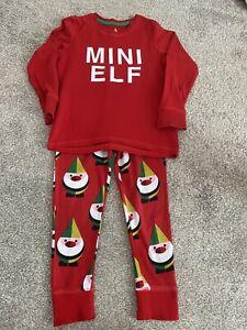 Next Christmas Mini Elf Pyjamas 3-4 Years
