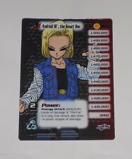 Dragon Ball Z CCG Android 18 the Smart One Lvl 3 Hi-Tech FOIL DBZ Cell Saga 198