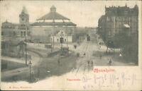 Ansichtskarte Mannheim 1902 Panorama   (Nr.9092)