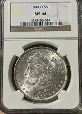 1900-O Morgan Silver Dollar NGC *MS64*
