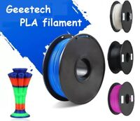 Geeetech Filament 1kg 1.75mm 3D Printer PLA & Silk Black/white/blue/yellow/red