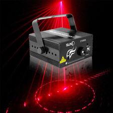 SUNY Muster Laserlichter Projektor Disco DJ Party RC Lasereffekt Stage Show SALE
