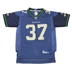 Reebok Seattle Seahawks Shaun Alexander #37 NFL Football Jersey Youth Size M