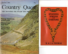 "WELSH LOVE SPOONS - PAMPHLET BY K.&J.A.THOMAS - ARTICLE IN ""COUNTRY QUEST""(1981)"