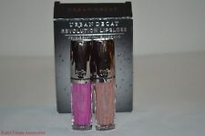 URBAN DECAY Revolution Lipgloss Duo Travel Size Set LIAR & ANARCHY NEW Authentic