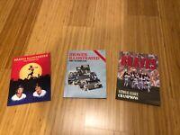 Brand New Atlanta Braves Yearbooks, 1984, 1985, and 1992