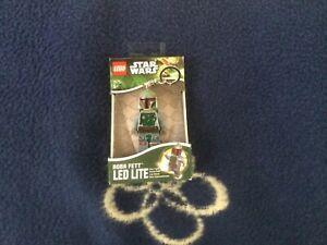 Lego Star Wars Boba Fett Key Light LED Lite Mini-Taschenlampe