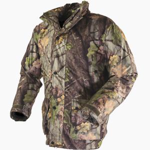 Jack Pyke Hunters Jacket Green/ English Oak Camo Walking/ Shooting/ Fishing