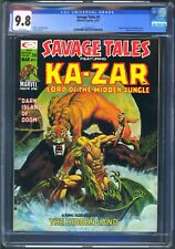 SAVAGE TALES #9 - CGC 9.8 - WP NM/MT - KA-ZAR - SHANNA SHE DEVIL - MIKE ZECK