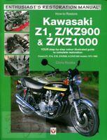 KAWASAKI RESTORATION SHOP MANUAL Z1 KZ900 KZ1000 HOW TO RESTORE REPAIR BOOK