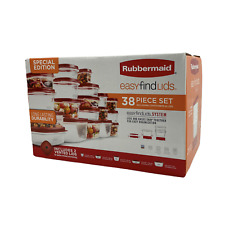 🔥Rubbermaid Storage Containers-Easy Find Vented Lids 🔥38-Piece Set🔥Free SH🔥