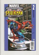 ULTIMATE SPIDER-MAN #2 NM 9.4 (CAR VARIANT) HEAD SKETCH/SIGNED BY ART THIBERT!