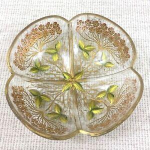 Antique Cameo Glass Bowl Intaglio Vienna Secessionist Art Nouveau Jugendstil