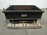 "9.16 Cu. Ft.Capacity Material Handling Parts Hopper Bin 44""x30""x12"" Inside"