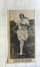 1921 Miss Lance Winning 75 Yard Race Kensington Argyle Athletic Southfields