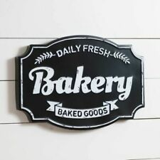 Bakery new Metal Wall Sign in Vintage Tin