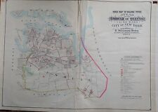 1904 Belcher Flushing Bayside Whitestone Queens Ny Index Page Copy Atlas Map
