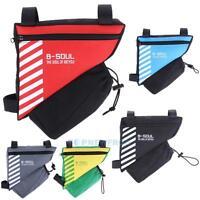 B-SOUL Rahmentasche Dreiecktasche Fahrradtasche Werkzeugtasche+Flasche Halter
