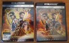 Gods of Egypt (4K Ultra HD and Blu-ray) Gerard Butler - No Digital