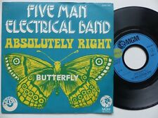 Five Man Electrical Band – Absolutely Right    MGM Records – 2006 082  FRANCE