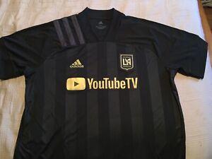 Adidas Soccer Jersey Official MLS 20/21 Los Angeles Football Club LAFC Men's XL