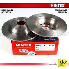 2X MINTEX REAR DISC BRAKES MDC1810 FORD FOCUS LAND ROVER RANGE ROVER EVOQUE L538