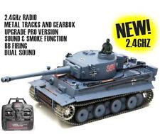 NEW Heng Long Radio Remote Control Rc German Tiger Tank PRO VERSION