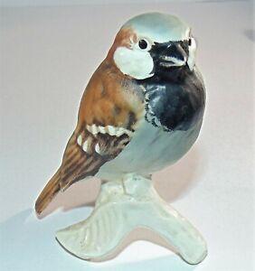 Vintage Goebel Bird SPARROW Matt Figurine