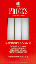Prices Household Candles 10 X Candles 5 Hours Burning Time Diameter 2cm White