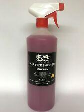 CHERRY CAR AIR FRESHENER FRAGRANC 1Litre VALETING INC TRIGGER SPRAY