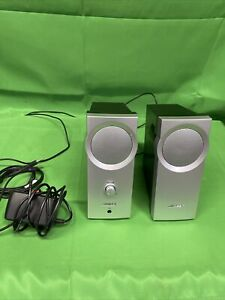 BOSE Companion 2 Series Computer Speakers | Silver | Full Set | Excellent Cond.