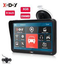 XGODY 9'' Car Truck GPS Navigation 256MB+8GB Touch Screen Sat Nav Bluetooth