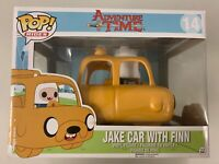 Jake Car With Finn 14 - Adventure Time - Funko Pop Vinyl - Rare Vaulted