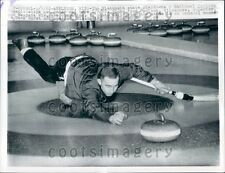 1962 Scene From National Curling Championship Appleton WI Press Photo
