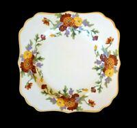 Beautiful Royal Doulton Marigold Cake Plate