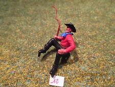 Figurine  plastique Timpo Toys cowboy Indien Sudiste Nordiste Arabe attelage