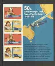 MS662 AUSTRALIA AVIATORS MINT MINI SHEET