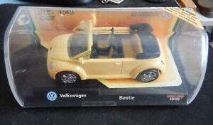 New Ray 48499 Volkswagen VW Beetle Convertible 1:42