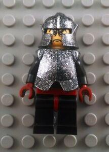 LEGO Castle Knights Kingdom II Shadow Knight Minifig with Speckled Silver Armor
