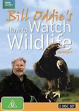 Bill Oddie's How To Watch Wildlife : Series 2 (DVD, 2014, 2-Disc Set)-FREE POST