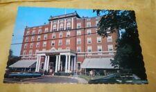 Vintage Chrome Post Card, Charlottetown Hotel, Prince Edward Island, Canada
