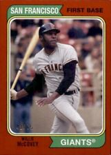 2020 Topps Archive RED Willie McCovey San Francisco Giants /75 #186