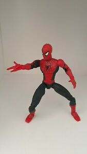 "6"" Spider-Man 2 Toy Biz Tobey Maguire super-poseable action figure - used"