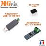 Module RS485 MAX485 adaptateur USB Convertisseur TTL | MAX485CSA Arduino ARM RPI